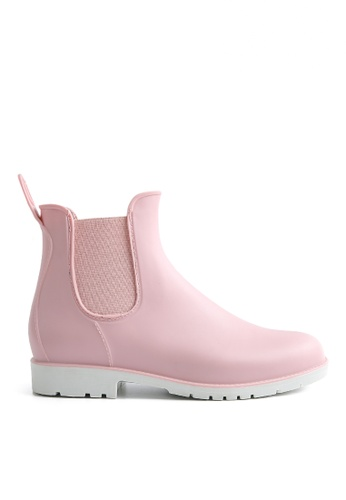 Twenty Eight Shoes 粉紅色 雨靴馬丁靴 902 8BCE8SHD709A60GS_1