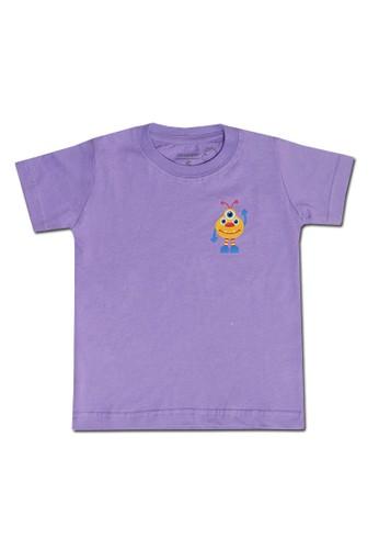 Pop Kidswear purple Pop Kidswear Monster Squad Purple Adult (Short Sleeves) Tee - kaos monster series CAE1AAA1BD3DBFGS_1