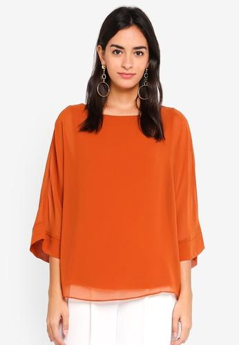 Wallis orange Rust Layered Top ADB73AA5852345GS_1