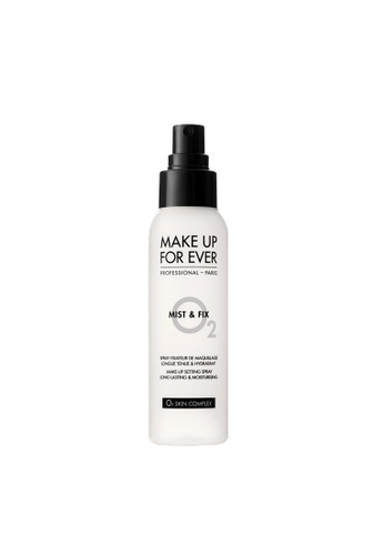 MAKE UP FOR EVER white MIST & FIX SETTING SPRAY 125ML 1A68EBE536CD1BGS_1
