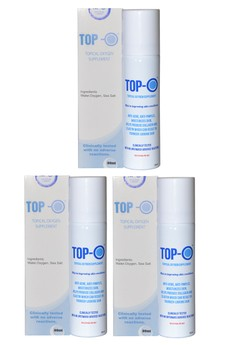TOP-O Topical Oxygen Supplement set of 3