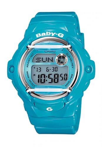CASIO blue Casio Baby-G Blue Resin Watch D2359ACDAF9721GS_1