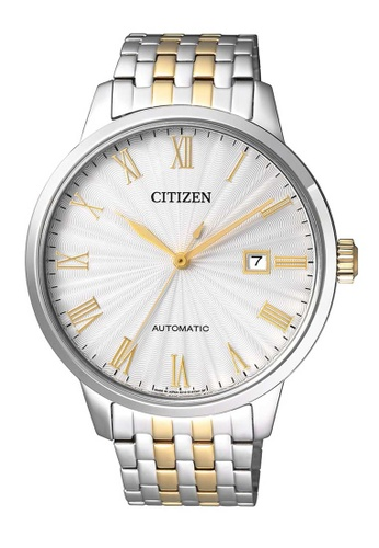 CITIZEN silver Citizen Gold and Silver Stainless Steel Watch 6C62BAC200555BGS_1