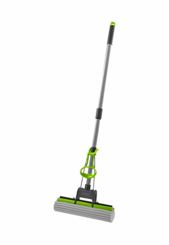 Scrubz green Heavy Duty Cleaning Essentials Easy Grip Premium PVA Sponge Mop E3D5DHLE426B3BGS_1