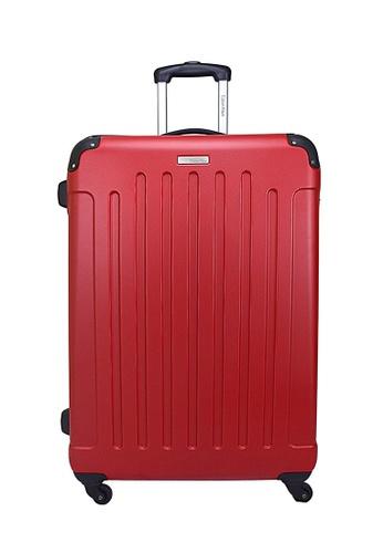 Calvin Klein red Calvin Klein Littleton - 28 inch Hard Case Luggage CA221AC98PYBSG_1