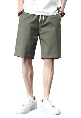 Trendyshop green Skinny Casual Pants BC8CFAAD303A34GS_1