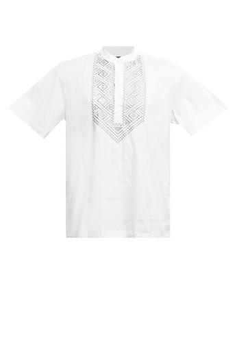 Zehavi beige Farza Embroidery Short Sleeve Koko F5B07AAC0070E8GS_1
