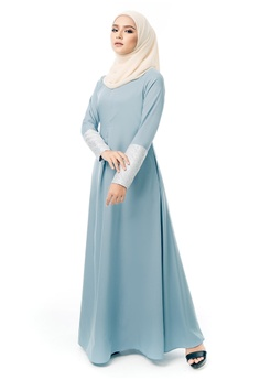 a37cd07c1f6 Imaan Boutique blue Ikhlas Dress Stone 7D533AA93BCB77GS 1