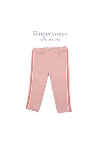 Gingersnaps pink La Belle Vie Pants  Rose Tan ACE52KAF4D813FGS_1