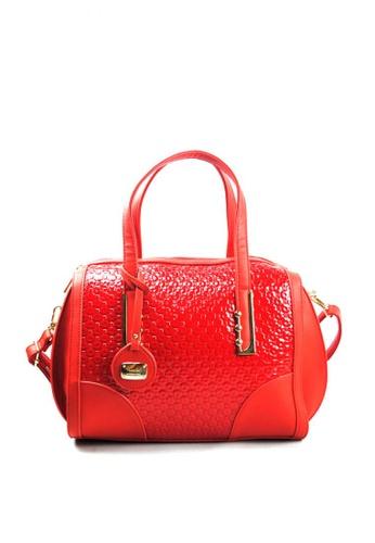 Kimbel International red HGZ28079 Handbag with Sling KI262AC0JCBQPH_1