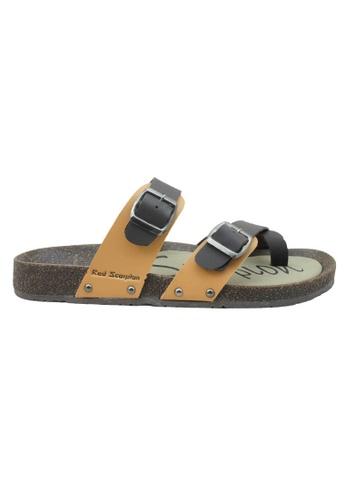 midzone brown RED SCORPION Stylish Sandals 8964CSH91BC287GS_1