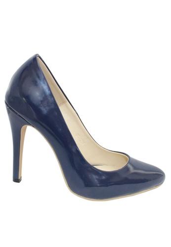 M&G blue Aretha Heels by M&G MG741SH44ZBFPH_1