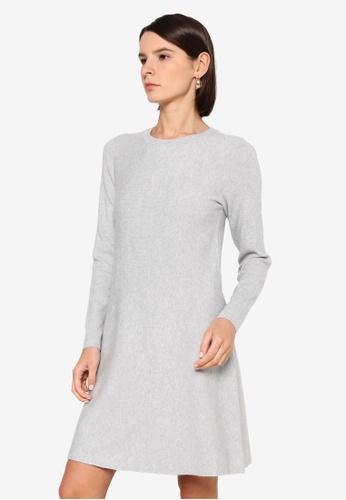Vero Moda grey Nancy Knit Dress 6112EAA4A036F4GS_1