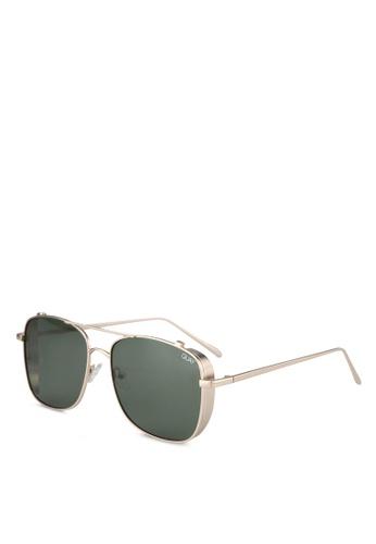 Quay Australia gold Weekend Warrior Sunglasses QU661GL0SHY2MY_1