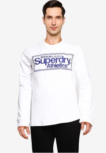 SUPERDRY 白色 CL Athletics Top BD2B4AA61256B1GS_1