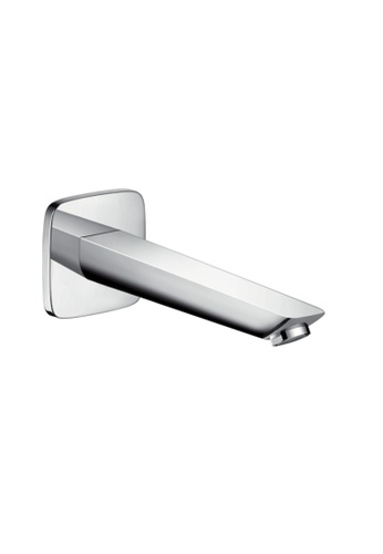 Hansgrohe silver Wall-Mounted Bath Spout B4A04HL63885EEGS_1