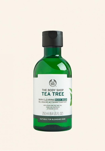 The Body Shop Tea Tree Skin Clearing Body Wash TH455BE63DVWMY_1