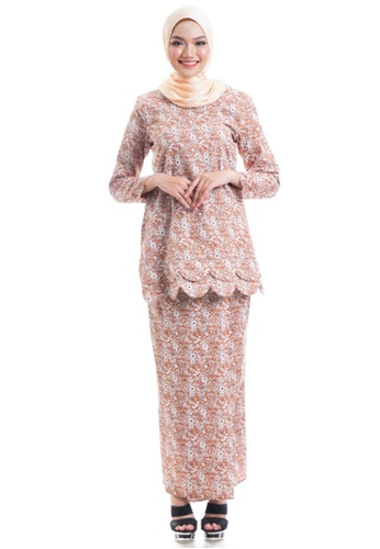 Ashura multi Zweeta Kurung Cotton With Layered Scallop 26FE8AA3A536ACGS_1