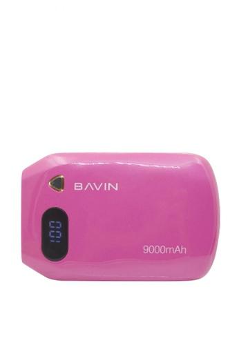 BAVIN pink 9000mAh Salamander LED Powerbank 77660AC6DCFEB0GS_1