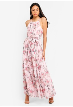 4c2b2c544fe04 Forever New pink Jenna Printed Maxi Dress 323F8AA1B652D5GS 1