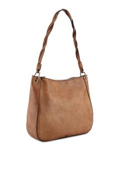 fdd269256 Dorothy Perkins Tan Twist Handle Hobo Bag RM 159.00. Sizes One Size