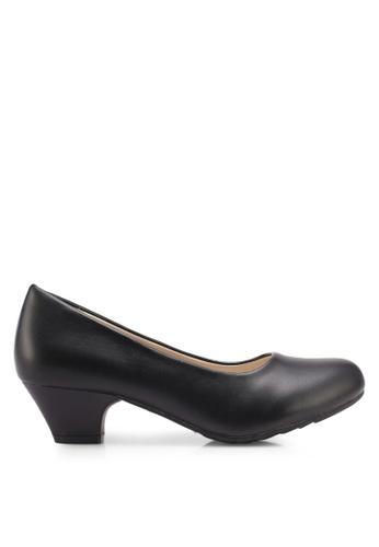 Bata black Naavah Heels 23674SH3ECC4F3GS_1