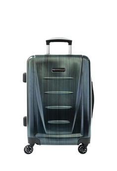 Playboy green and blue and navy 20 inch PLAYBOY LUGGAGE 4342BAC92340B6GS 1 e424479e663f6
