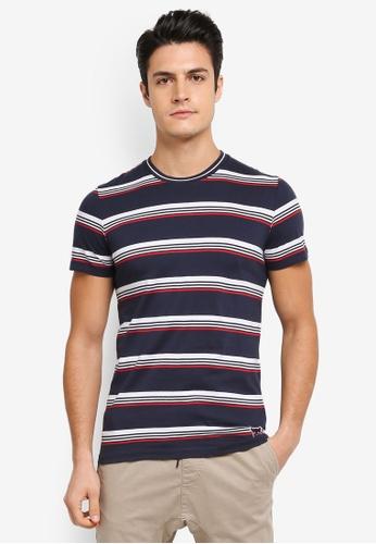 ESPRIT navy Short Sleeve T-Shirt ES374AA0T18XMY_1