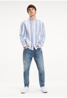 33066319 30% OFF Tommy Jeans TJM BOLD STRIPE SHIRT S$ 179.00 NOW S$ 125.30 Sizes S M  L