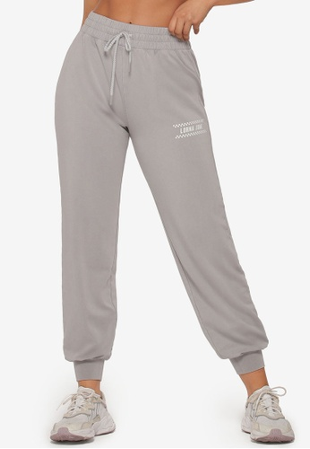 Lorna Jane grey All Rounder Tracksuit Pants 28DD5AA5D59EF8GS_1