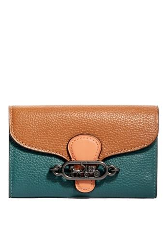 Coach green Jade Medium Envelope Wallet (cv) B5C75AC3489012GS_1