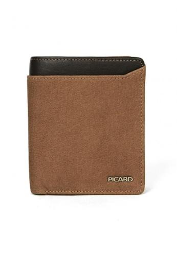 Picard brown Munich Cardholder Wallet PI517AC86CGVSG_1
