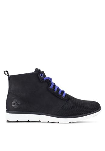 Timberland blue Killington Leather And Fabric Chukka Shoes TI063SH17NDUMY_1