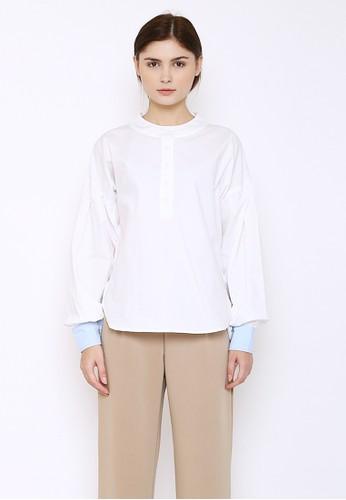 Floe Fashion white Cesha Top White DB51CAA45FFC1AGS_1