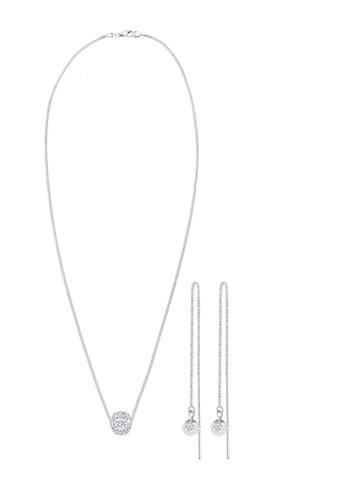 ELLI GERMANY silver Jewelry Set Basic Crystals EL474AC0S9DAMY_1