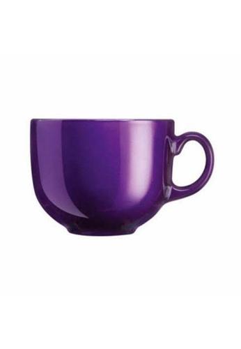 Luminarc Luminarc 0.5L Flashy Breakfast Jumbo Mug - Purple FEF12HLFC079ECGS_1