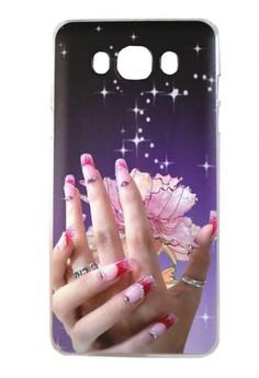 Samsung Galaxy J7 2016 Elegant Hand Design Hard Case