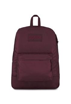 34fcbd6f8 Jansport red Jansport Mono Superbreak Backpack Dried Fig - 25L  3C64EACD7C091FGS_1