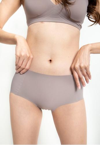 Celessa Soft Clothing grey Bare - Seamless Hygiene Panties 619AEUS4F525B1GS_1