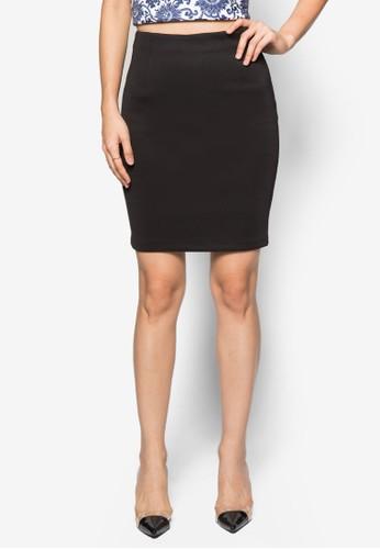 素色esprit門市鉛筆裙, 服飾, 簡約優雅風格