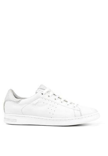 Geox white D Jaysen Sneaker 4E1D2SH9B95650GS_1