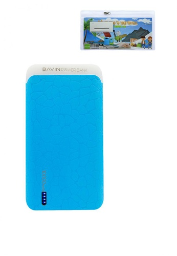 BAVIN blue PC175 10000mAh Slim Powerbank with FREE Bavin Transparent PVC Pouch 9E5D5AC4520EFEGS_1