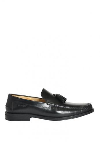 Sebago black Eliott Tassel Dress Casual Shoes SE328SH0K35UPH_1