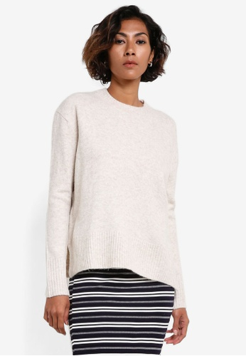 Mango white Wool-Blend Pullover MA193AA0RGUMMY_1