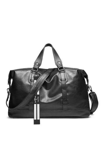 Twenty Eight Shoes black Men's Travel Faux Leather Duffel Bags ET6070 91615AC07474AAGS_1