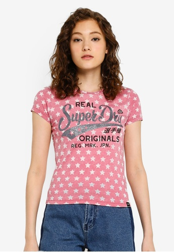 433c5fd93 Buy Superdry Burn Out Star Print Entry Tee Online on ZALORA Singapore