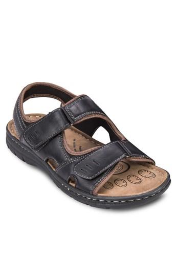雙帶zalora 台灣仿皮涼鞋, 鞋, 鞋