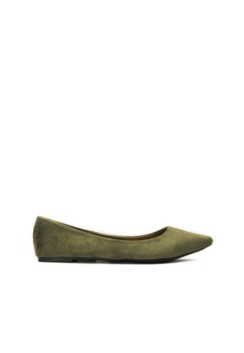 SEMBONIA green SEMBONIA Ballet Shoe (Deep Green) 0EC3ESH10F9F02GS_1
