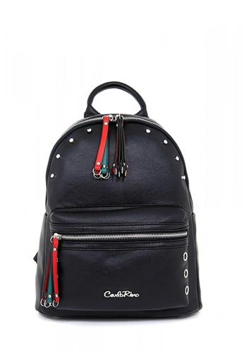 Carlo Rino black Carlo Rino 0303986-001-08 Backpack CA220AC0RF89MY_1