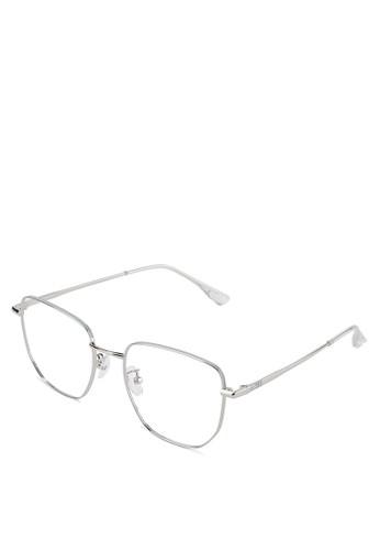 Kingship silver Signature Kacamata Anti Blue Light Monclair Eyewear 1B3AFGL15F2715GS_1